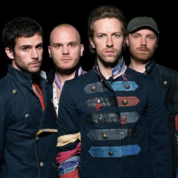Coldplay песни слушать