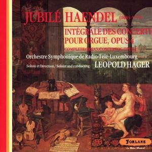 Jubile Haendel : Integrale des concerti pour orgue, Op. 4