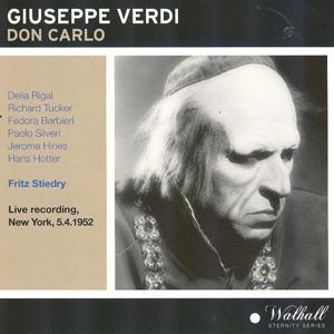 Giuseppe Verdi: Don Carlo (Recording New York 05.04.1952)