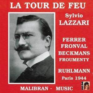 Lazzari : La tour de feu - Courtin : Ballade de Naick (Paris 1944)