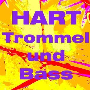 Hart trommel und bass