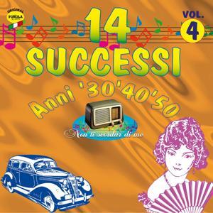 14 successi anni '30 '40 '50 vol.4