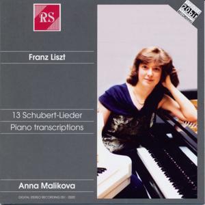 Liszt and Schubert: 13 Schubert / Lieder Piano Transcriptions