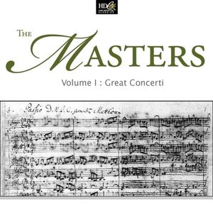 Joseph Haydn, Wolfgang Amadeus, Ludwig Van Beethoven :The Masters Vol. 1 - Great Concerti (Works For Solo Instrument and Orchestra)