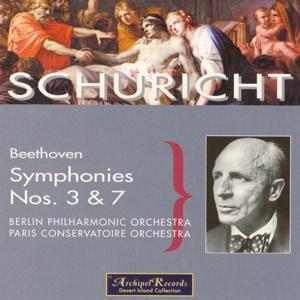 Ludwig van Beethoven : Symphonies Nos. 3 & 7