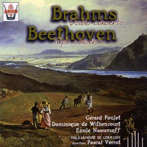 Brahms : Double concerto - Beethoven : Triple concerto