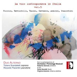La voce contemporanea in Italia, vol. 5