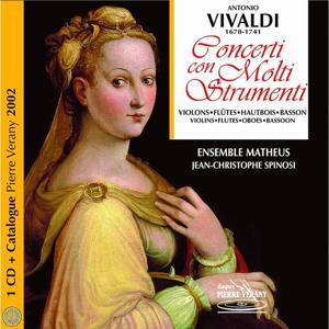 Vivaldi : Catalogue Vérany classique 2002 - Concerti con molti strumenti, vol.2