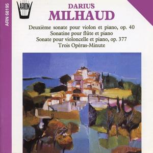 Milhaud : Sonates pour piano
