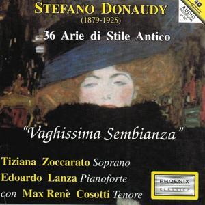 Stefano Donaudy : 36 arie di stile antico, Vaghissima sembianza