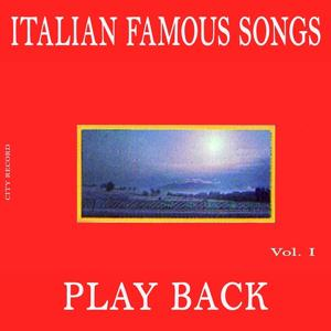 Play Back Italian Famous Songs, Vol.1