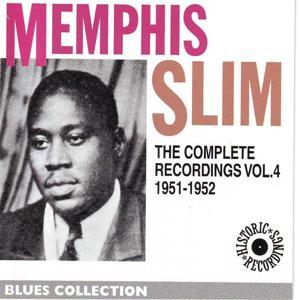 Memphis Slim Complete Recordings, Vol. 4: 1951-1952 (Blues Collection Historic Recordings)