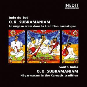 Inde du sud. o.k. subramaniam