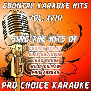 Country Karaoke Hits, Vol.18 (The Greatest Country Karaoke Hits)