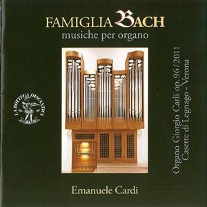 Famiglia bach: Musiche per organo - organo giorgio carli, op. 96 (2001) casette di legnago, verona