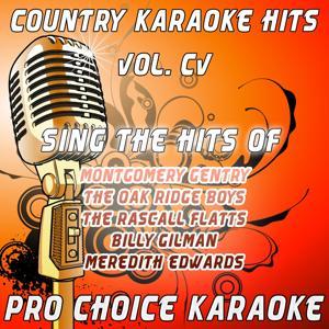 Country Karaoke Hits, Vol. 105 (The Greatest Country Karaoke Hits)