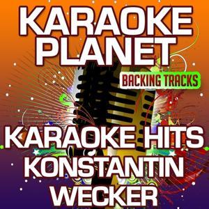 Karaoke Hits Konstantin Wecker (Karaoke Planet)