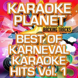 Best of Karneval Karaoke Hits, Vol. 1 (Karaoke Planet)