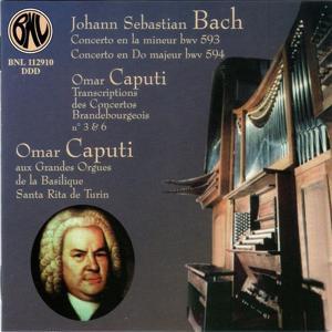 Bach: Concertos et transcriptions pour orgue (Les grandes orgues de la Basilique Santa Rita, Torino)