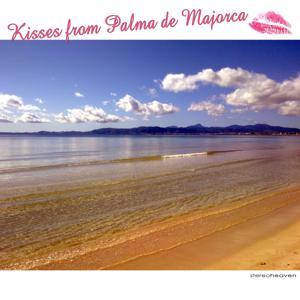 Kisses from Palma de Majorca