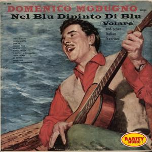 Sings nel blu dipinto di blu (Volare and other italian favorites)