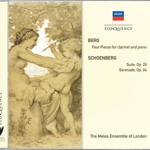 Berg: Four Pieces For Clarinet & Piano; Schoenberg: Suite; Serenade