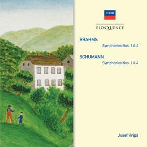 Brahms: Symphonies Nos.1 & 4; Schumann: Symphonies Nos.1 & 4