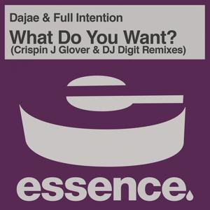 What Do You Want ? (Crispin J Glover and DJ Digit Remixes)
