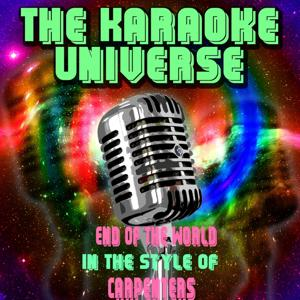 End of the World (Karaoke Version) [In the Style of Carpenters]
