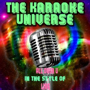 All Over U (Karaoke Version) [In the Style of Live]