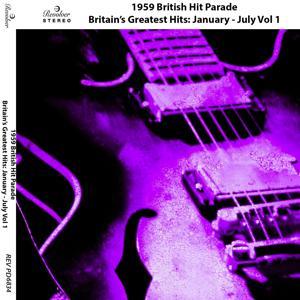 1959 British Hit Parade, Pt. 1 (January - July)