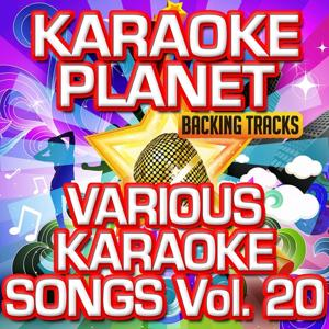 Various Karaoke Songs, Vol. 20 (Karaoke Version)
