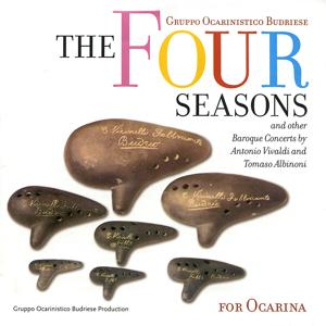 The Four Seasons: And Other Baroque Concerts by Antonio Vivaldi and Tomaso Albinoni for Ocarina