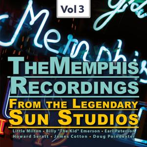 The Memphis Recordings from the Legendary Sun Studios1,  Vol.3