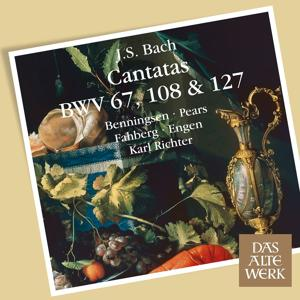 Bach, JS : Cantatas BWV Nos 67, 108 & 127 (DAW 50)
