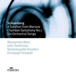 Schönberg : 6 Orchestral Songs & Chamber Symphony No.1  -  Elatus