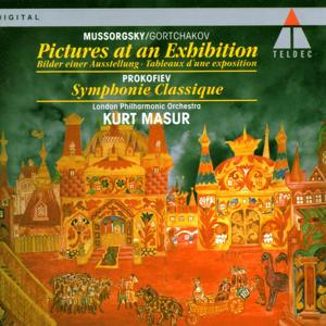 Mussorgsky/Gortchakov : Pictures at an Exhibition & Prokofiev : Classical Symphony