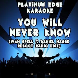 You Will Never Know (Ivan Spell & Daniel Magre Reboot Radio Edit) [Karaoke Version] [Originally Performed By Imany]