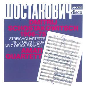 Dmitri Shostakovich: Streichquartette No. 3, Op. 73 & No. 7, Op. 108