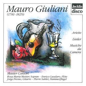 Mauro Giuliani: Ariette, Lieder & Musiche da camera