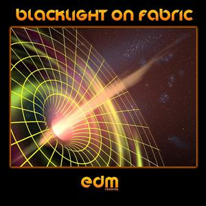 Blacklight on Fabric - Spring 2014 Psy-Trance Charters