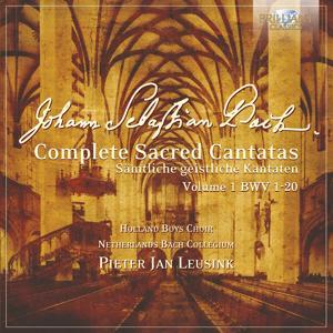 J.S. Bach: Complete Sacred Cantatas Vol. 01, BWV 1-20
