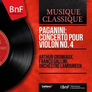 Paganini: Concerto pour violon No. 4 (Mono Version)