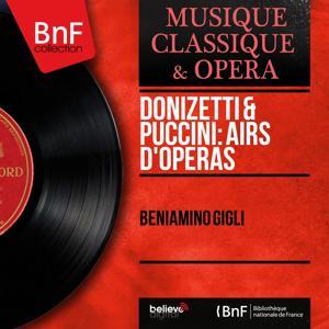 Donizetti & Puccini: Airs d'opéras (Mono Version)