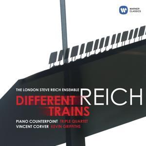 Reich: Different Trains, Piano Counterpoint, Triple Quartet