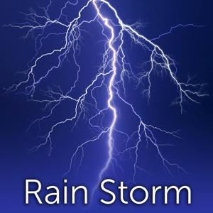 Rain Storm with Thunder and Wind