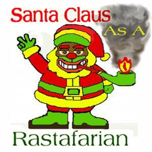 Santa Claus as a Rastafarian