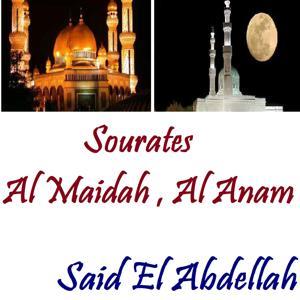 Sourates Al Maidah , Al Anam (Quran)