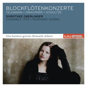 Telemann, Graupner, Schultze: Blockflötenkonzerte