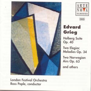 Grieg: Holberg Suite / 2 Norvegian Airs / Lyric Pieces etc.
